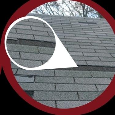 missing roof shingles